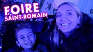 Video VLOG - Journée de Folie à LA FOIRE SAINT-ROMAIN ! - Manèges & Attractions MP3, 3GP, MP4, WEBM, AVI, FLV November 2017
