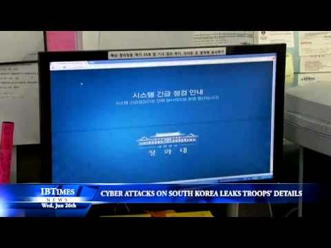 Cyber Attack on South Korea Leaks Troops Details