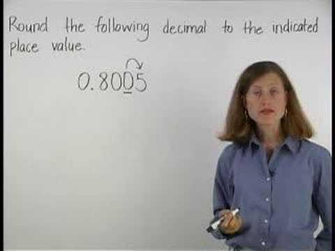 Rounding Decimals Video