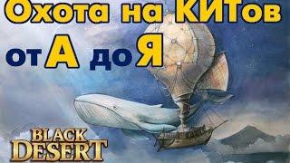 Black Desert (RU) - Полный гайд по охоте на китов