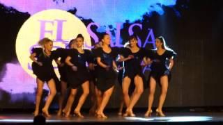 Dance Atelier Students Team na El Sol Salsa Festival 2016