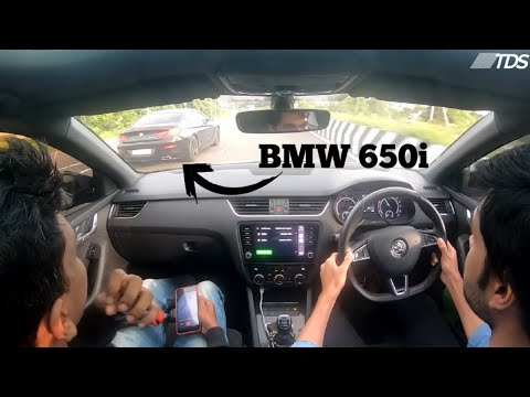 Octavia VRS ride in Chennai ECR | Launch Control | The Driver Seat