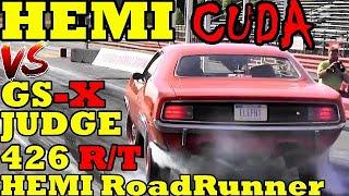70 HEMI CUDA !! vs DETROIT MUSCLE !! 70 Hemi Cuda takes on Detroit Muscle Cars !! Road Test TV by Road Test TV