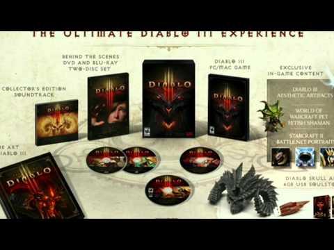 Blizzcon 2011: Diablo 3 Collector's Edition