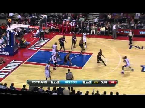 Portland Trail Blazers 91 – Detroit Pistons 94
