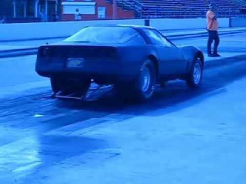 Kyle Anderson Flat Black Corvette