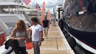 Super Yachts at the Ft Lauderdale Boat Show
