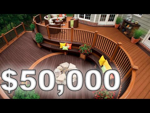 Building a $50,000 Wooden Deck! (Weekly Episode 9)
