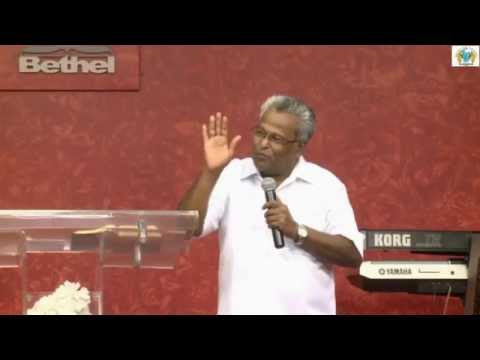 I will build my Church - Rev. Dr. M A Varughese Bethel AG Church Bangalore