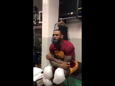 Clevland Cavaliers Game 7 celebrate to Meek Mill Dreams Nightmares Intro