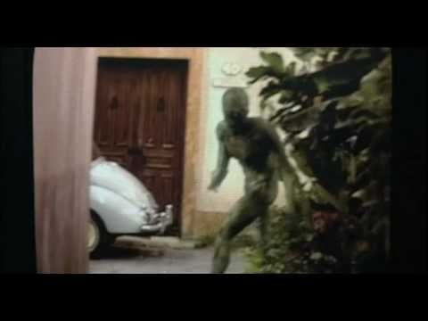 "Signs ""The Alien"" 2002 movie scene"