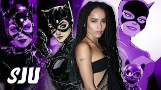 Zoe Kravitz Cast as Catwoman in The Batman | SJU by Clevver Movies