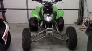 9. Arctic Cat DVX 400 For Sale