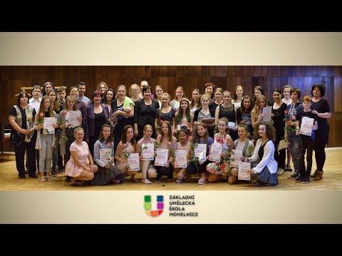 Absolventský koncert ZUŠ Mohelnice 2017