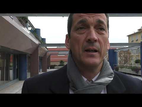 Presentazione autobus a idrogeno della Riviera Trasporti, intervista a Riccardo Giordano