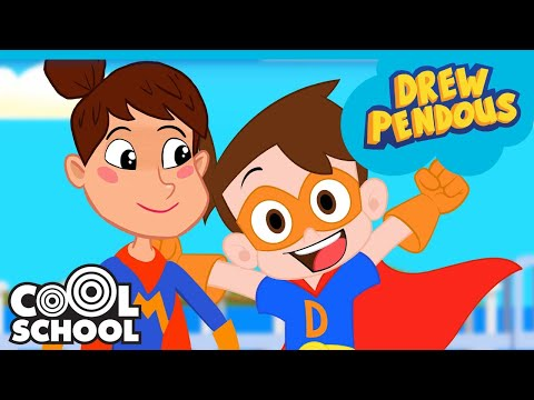 Super Drew and Super MOM Team Up to Save The Day! | Stupendous Drew Pendous Superhero Story