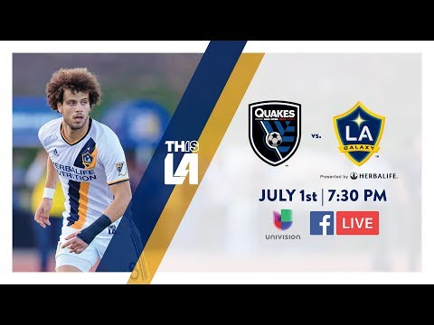 Video: TEASER: LA Galaxy vs. San Jose Earthquakes | July 1st, 2017