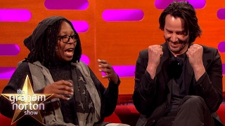 Video Whoopi Goldberg Freaks Out Keanu Reeves with Pubic Hair Talk | The Graham Norton Show MP3, 3GP, MP4, WEBM, AVI, FLV Agustus 2018