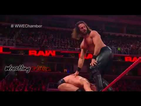 Fatal-5-Way Qualifying Match To Enter Elimination Chamber : WWE Raw Highlights 12th February 2018