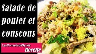Salade De Poulet Et Couscous Simple Et Rapide [Rééquilibrage Alimentaire - Régime]