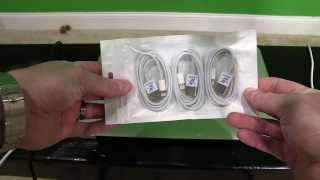 iXCC Lightning Cable Unboxing