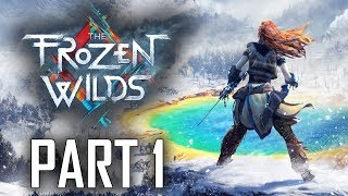 "Horizon: Zero Dawn - The Frozen Wilds DLC - Let's Play - Part 1 - ""Into The Wilds, Shaman's Path"""