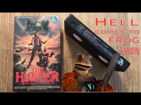 The Hunter / Hell Comes To Frogtown - Roddy Piper - VHS - The Lost Tapes - Trashgranate