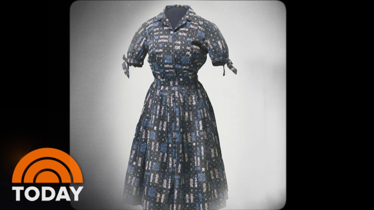 Dress In Smithsonian Was Worn By One Of The Little Rock Nine | TODAY