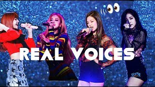 Video BLACKPINK REAL VOICES !!! (each members) MP3, 3GP, MP4, WEBM, AVI, FLV April 2019