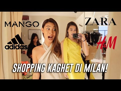 SHOPPING KAGHET DI MILAN SHAY!