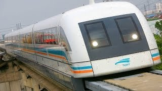 "Watch the ENTIRE video before commenting: MAGLEV train ""capable"" of 3500 km/h (theoretically if inside a vacuum tunnel) High ..."