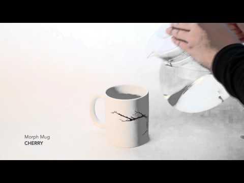 Kaffeebecher MORPH MUG CHERRY Video