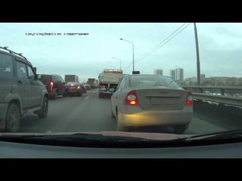 Авария Mercedes Viano и Chevrolet Cruze