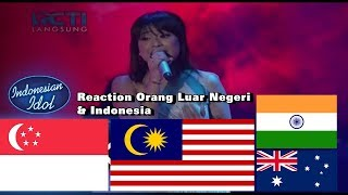 Video [Reaction Orang Luar Negeri & Indonesia] - JODIE - Indonesian Idol 2018 MP3, 3GP, MP4, WEBM, AVI, FLV Maret 2018