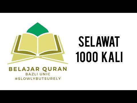 SELAWAT 1000 KALI (PASANG ULANG DENGAR)