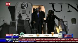 Video Mike Pence Tiba di Bandara Halim Perdanakusuma MP3, 3GP, MP4, WEBM, AVI, FLV Oktober 2017