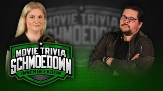 Rachel Cushing VS Adam Hlavac - Movie Trivia Schmoedown by Schmoes Know