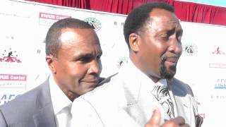 TOMMY HEARNS ON SUGAR RAY LEONARD EsNews