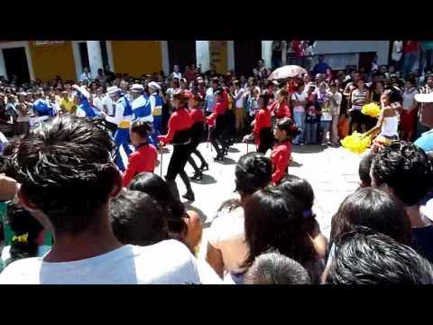Banda Rítmica de la Escuela Pública Carmela Noguera de Granada (Nicaragua)