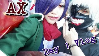 Video [UchihaHotline] Anime Expo '16 Vlog! (Day 1) [TOKYO GHOUL COSPLAY] MP3, 3GP, MP4, WEBM, AVI, FLV Juli 2018