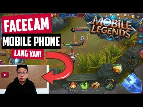 Facecam Gamit Phone Lang! Ml Gameplay With Facecam!