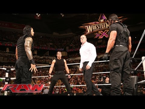 Video: The Shield triple powerbombs Kane on RAW