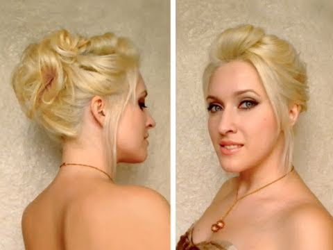 party hairstyle - JOIN ME ON FACEBOOK http://www.facebook.com/LilithMoon Страница В КОНТАКТЕ http://vk.com/public43817909 *** In this quick and easy autumn / fall 2011 hair tu...