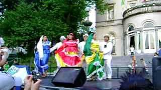 Folklor Salvadoreño En Bruxelles