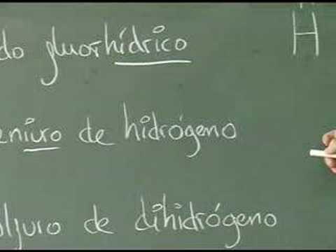 Vídeos Educativos.,Vídeos:Ácidos Hidrácidos