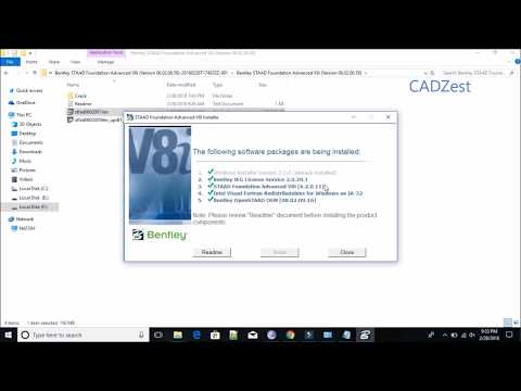 100% Works !! Staad Pro Download/Install/Crack/Activation in All Windows.