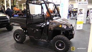 7. 2019 Polaris Ranger 570 Utility ATV - Walkaround - 2018 Toronto ATV Show