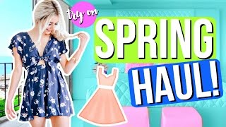 Spring Try On Clothing Haul! Cute Outfit Ideas! | Aspyn Ovard by Aspyn Ovard