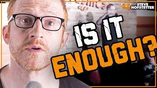 Same heckler won't shut up, comedian owns them 7 times - Steve Hofstetter