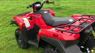 5. New 2019 King Quad 500 Power Steering Walk Around